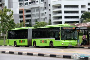 Bus 806 - SBS Transit MAN A24 / Lion's City G (SMB8006S)