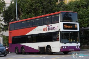 Bus 8 - SBS Transit Volvo B10TL (SBS9825D)