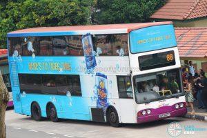 Bus 88 - SBS Transit Volvo B10TL (SBS9829P)