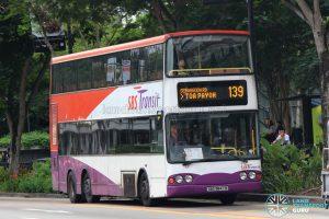 Bus 139 - SBS Transit Volvo B10TL (SBS9847R)