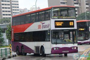Bus 69 - SBS Transit Volvo B10TL (SBS9849K)