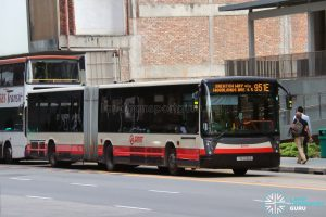 Bus 951E - SMRT Buses Mercedes-Benz O405G (TIB1236M)