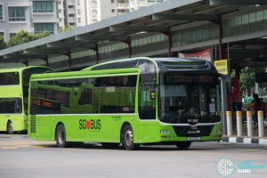 Bus 382G: Go-Ahead MAN Lion's City A22 (SG1720L)