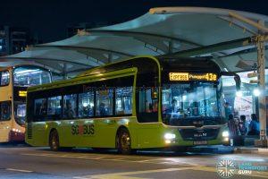 Bus 43e: Go-Ahead MAN Lion's City A22 (SG1720L)