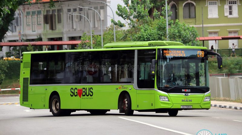 Chinatown Direct CT8 - SBS Transit MAN A22 Euro 6 (SG1768A)