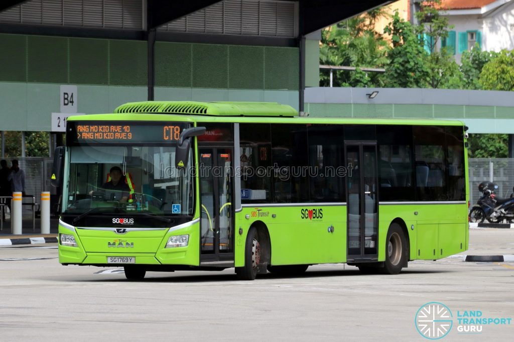 Chinatown Direct CT8 - SBS Transit MAN A22 Euro 6 (SG1769Y)