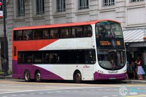 Bus 14 - SBS Transit Volvo B9TL Wright (SBS3039X)