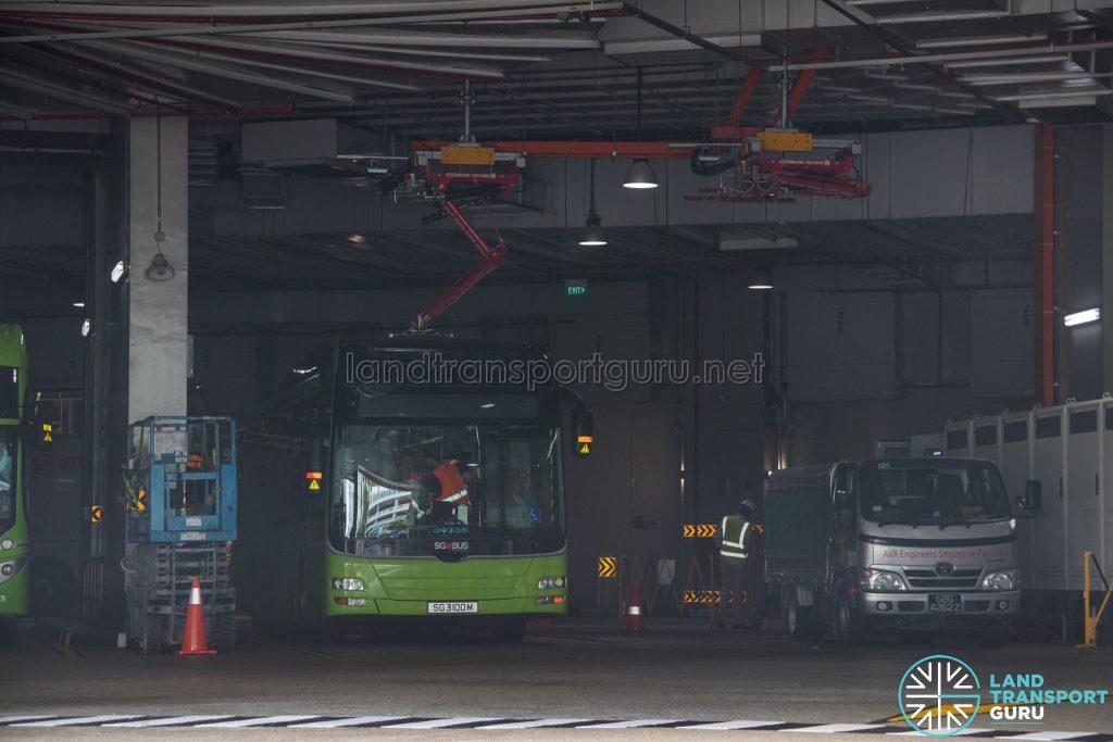 ST Engineering Retrofitted Electric Bus (SG3100M) - Bukit Panjang ITH