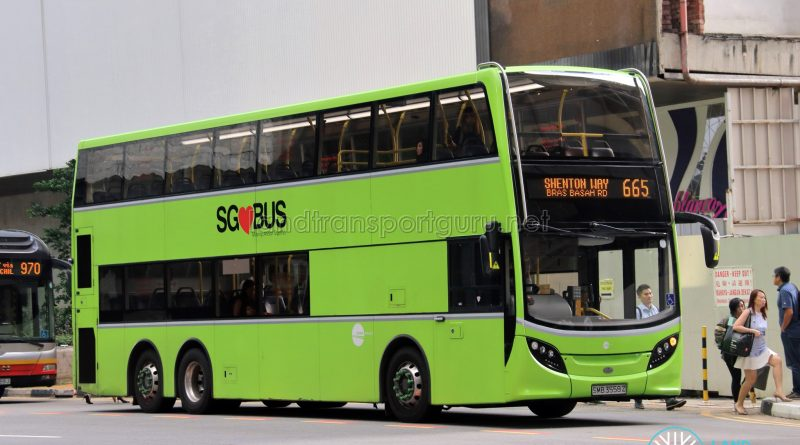 Bus 665 - Tower Transit Alexander Dennis Enviro500 (SMB3558Z)