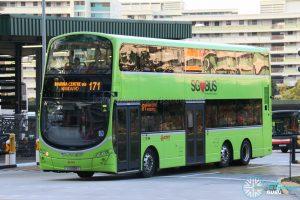 Bus 171: SMRT Buses Volvo B9TL Wright (SG5504T)