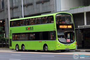 Bus 868E - SMRT Buses Volvo B9TL Wright (SG5535D)