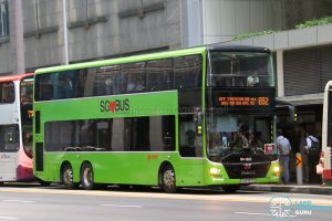 Bus 652: SMRT MAN Lion's City DD A95 (SG5757E)