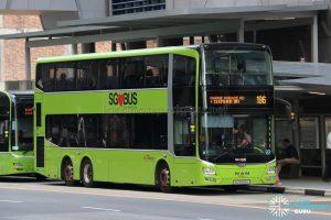 Bus 196 - SBS Transit MAN A95 (SG5893U)
