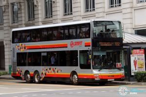 Bus 652 - SMRT Buses MAN A95 (SMB5899B)