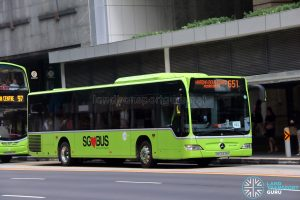 City Direct 651 - Tower Transit Mercedes-Benz Citaro (SBS6339K)