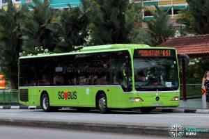 City Direct 651 - Tower Transit Mercedes-Benz Citaro (SBS6355M)