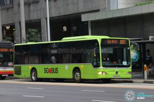 Bus 651 - Tower Transit Mercedes-Benz Citaro (SBS6444P)