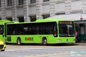 Bus 36 / Happy Lunar New Year - Go-Ahead Singapore Mercedes-Benz Citaro (SBS6532T)