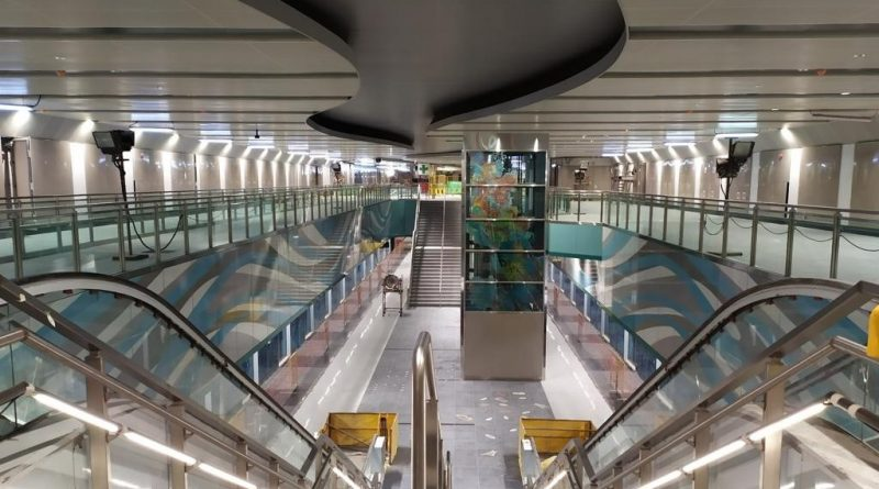 Bright Hill MRT Station - Interior (Photo: LTA)