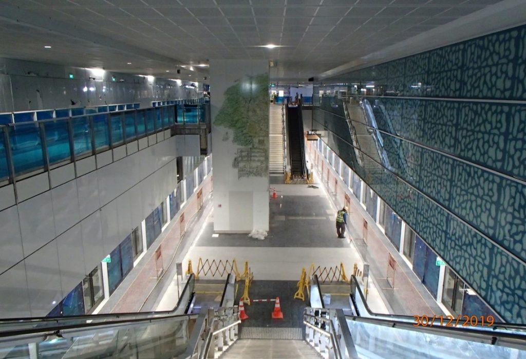 Springleaf MRT Station - Interior (Photo: LTA)