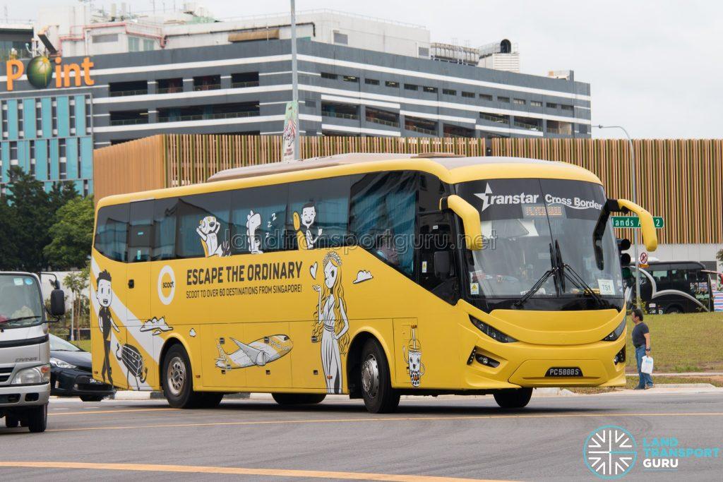 Transtar Cross-Border TS1 - Scania KIB (PC5888S)