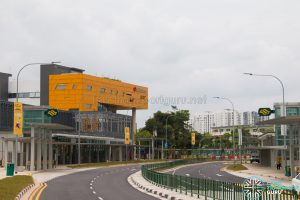 Woodlands South MRT Station Exterior