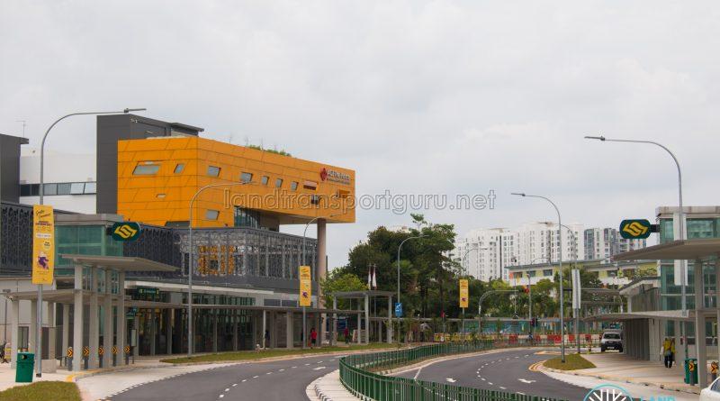 Woodlands South MRT Station Exterior