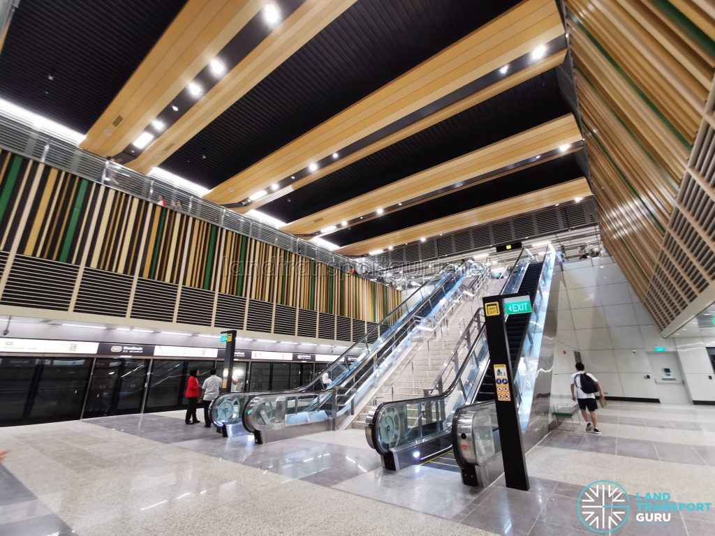 Woodlands MRT Station - TEL Platform