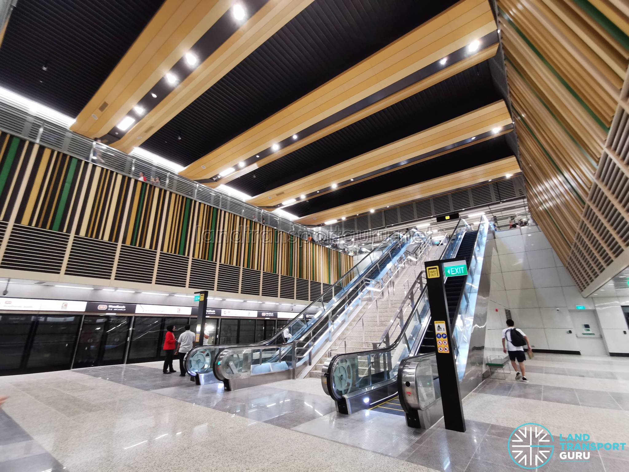 Woodlands MRT Station - TEL Platform