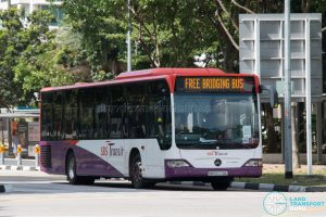 North East Line Free Bridging Bus - SBS Transit Mercedes-Benz Citaro (SBS6774L)