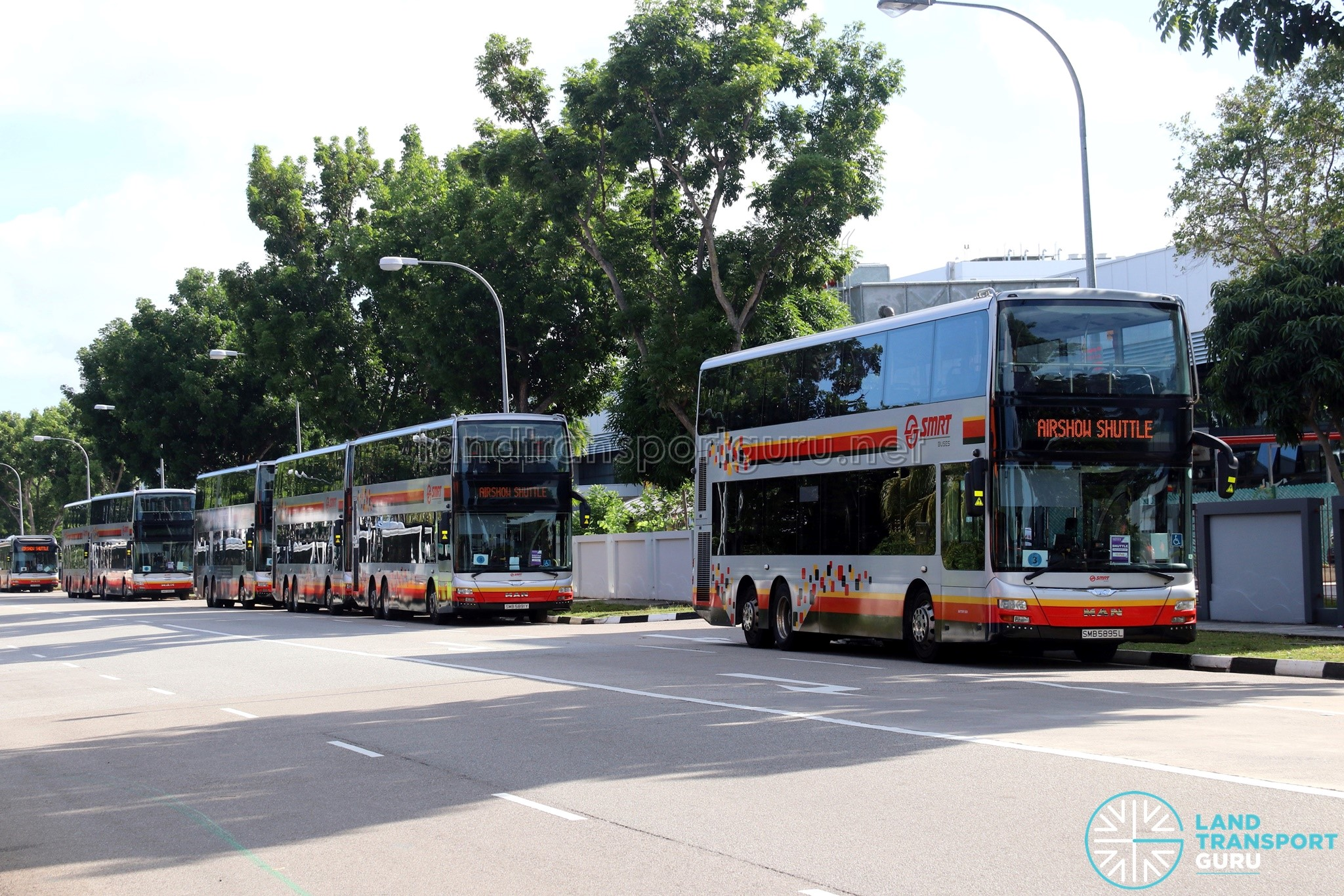 Singapore Airshow 2020 Shuttle Buses