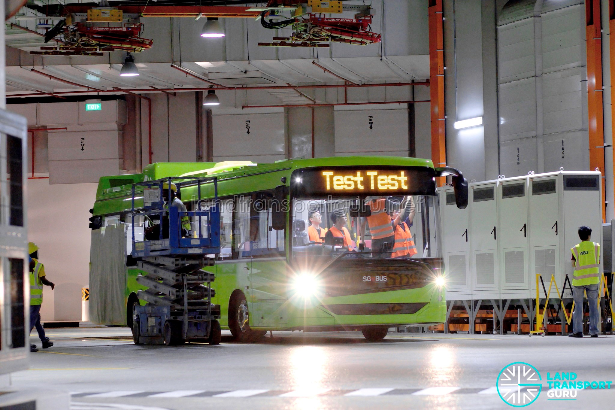 ST Engineering Electric Bus