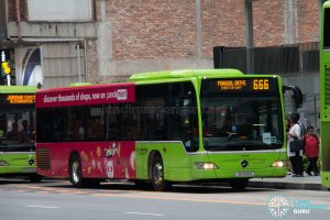 Bus 666: Go-Ahead Mercedes-Benz Citaro (SG1014S)