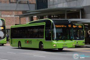 Bus 162: SBS Transit MAN A22 (SMB3144J)