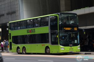 Bus 652: SMRT MAN Lion's City DD A95 (SG5942L)