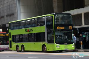 Bus 513: SBS Transit MAN Lion's City DD A95 (SG6083J)