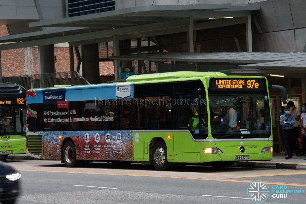 Bus 97e: Tower Transit Mercedes-Benz Citaro (SBS6404E)