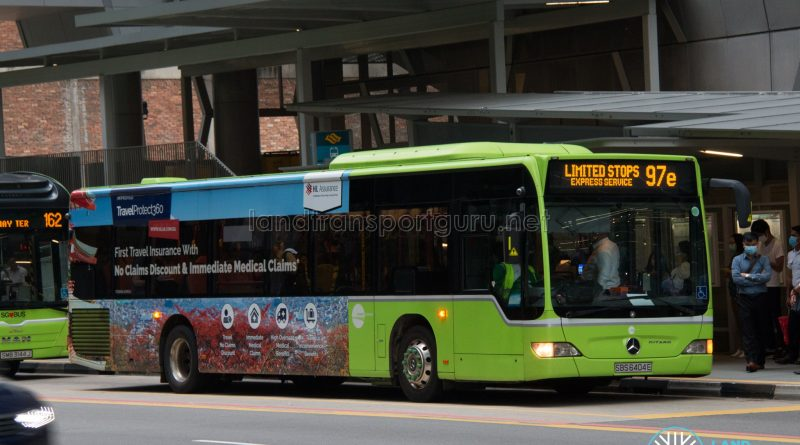 Bus 97e: Tower Transit Mercedes-Benz Citaro (SBS6404E)