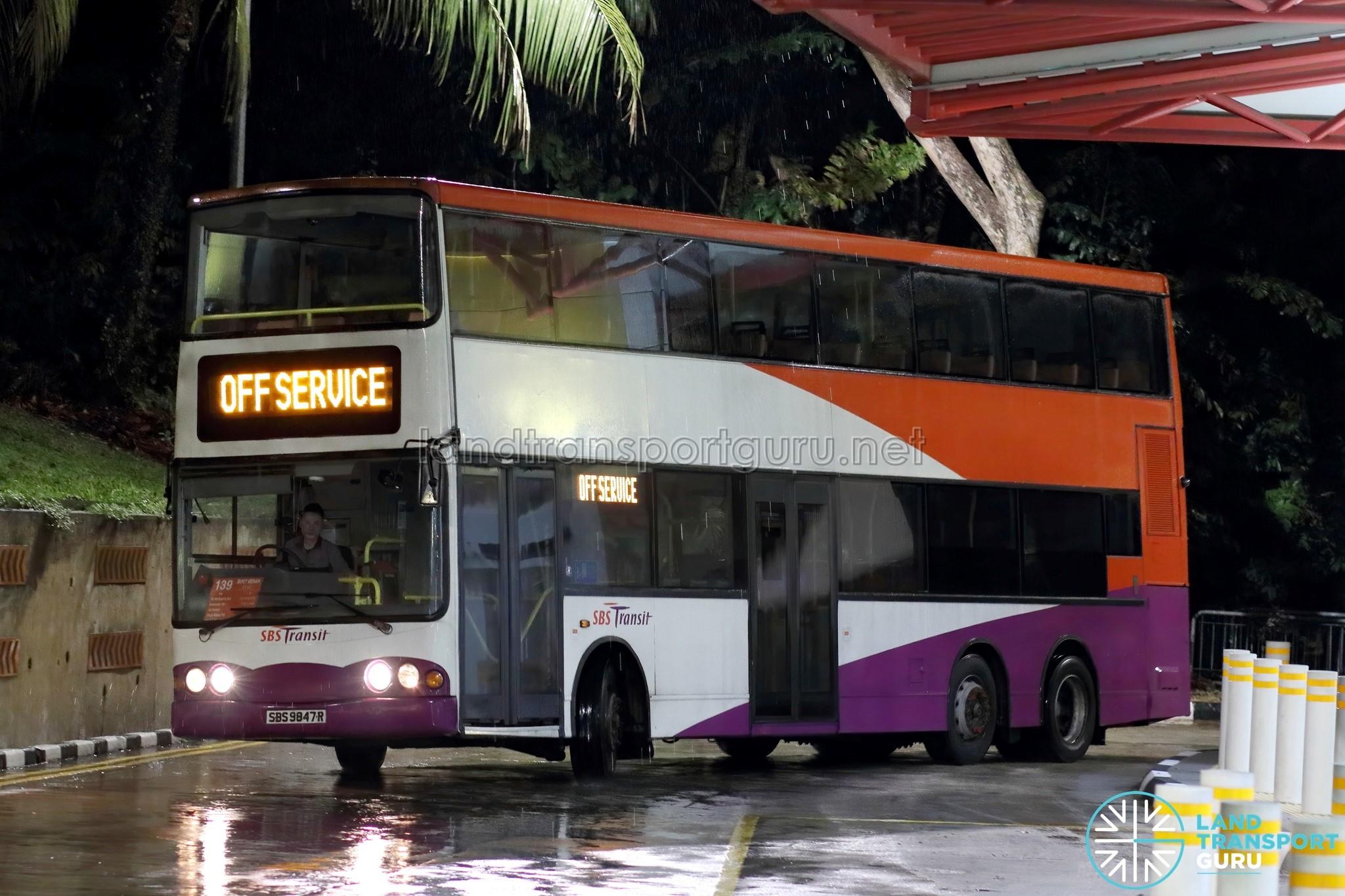 Farewell. Volvo B10TL Volgren Buses