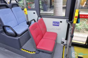 MAN A95 (Euro 6 Batch 2) – Lower deck nearside priority seats