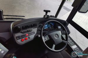 Mercedes Benz Citaro Hybrid - Dashboard