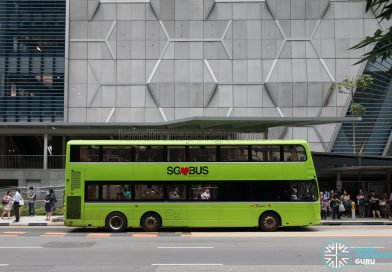 SG❤BUS Volvo B9TL Wright