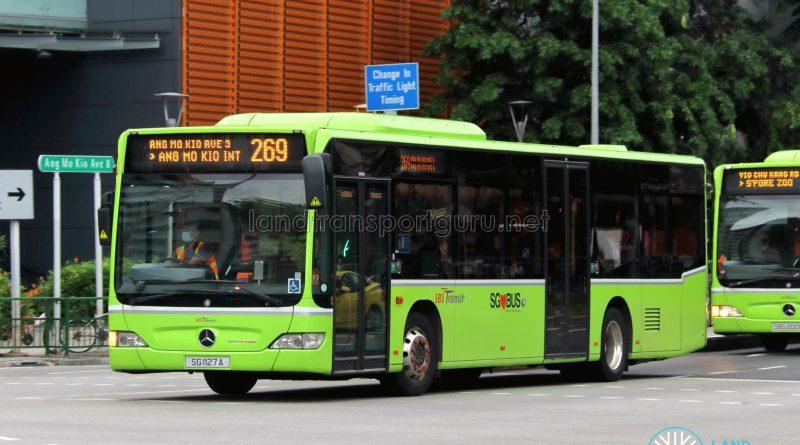 Bus 269: SBS Transit Mercedes-Benz Citaro (SG1127A)