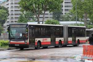 Bus 169: SMRT Mercedes-Benz O405G Habit (TIB1242U)