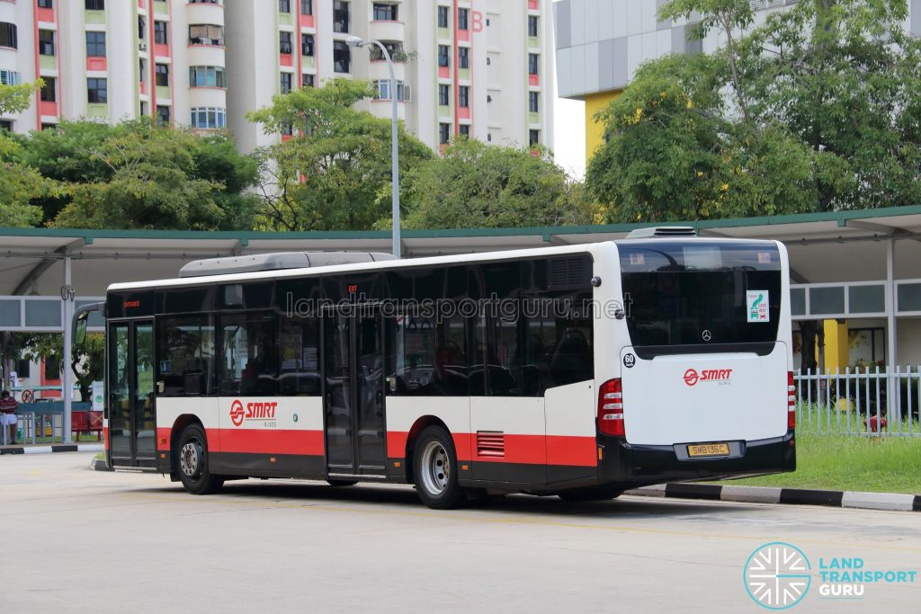 Training Bus - SMRT Mercedes-Benz Citaro Demonstrator (SMB136C)