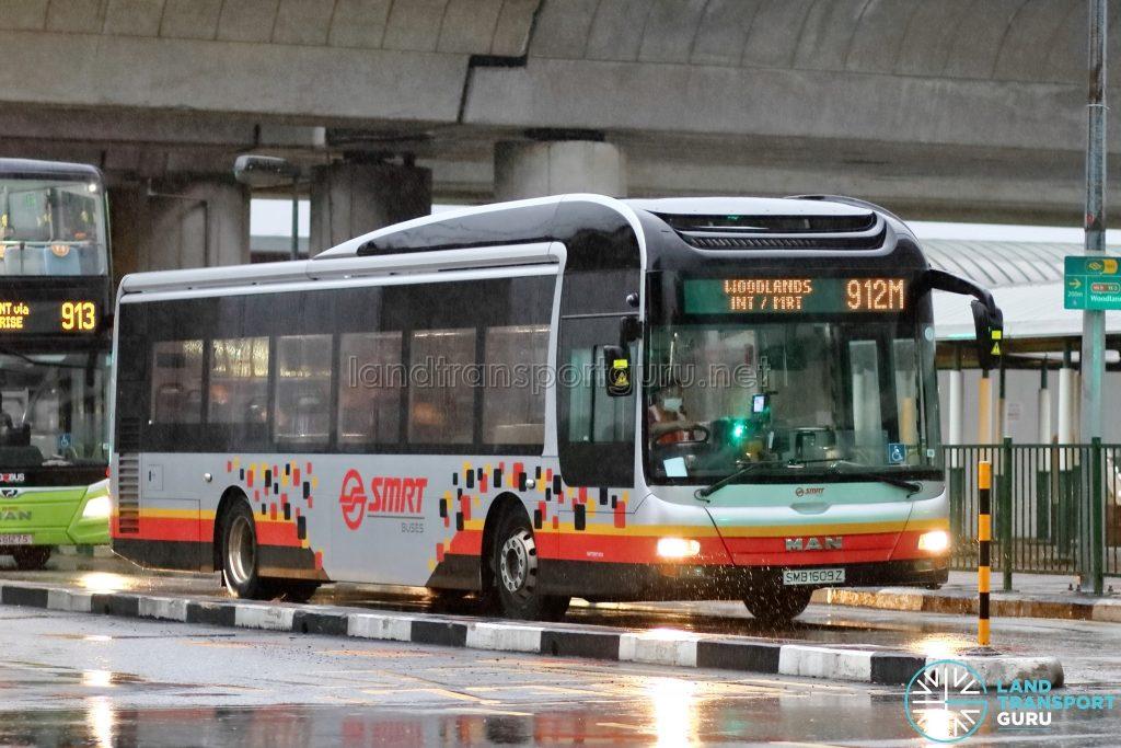 Bus 912M – SMRT MAN A22 (SMB1609Z)