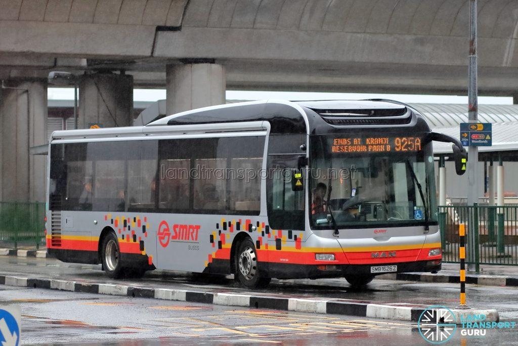 Bus 925A – SMRT MAN A22 (SMB1626Z)
