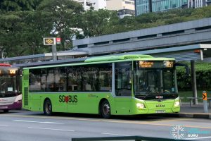 Bus 851: SBS Transit MAN Lion's City A22 (SG1750A)