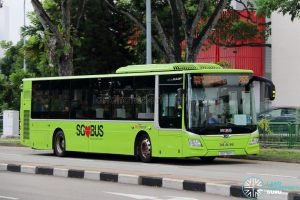 Bus 265: SBS Transit MAN Lion's City A22 (SG1782H)