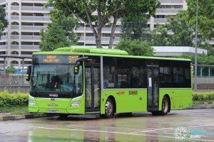 Bus 911T – SMRT MAN A22 (SG1850U)